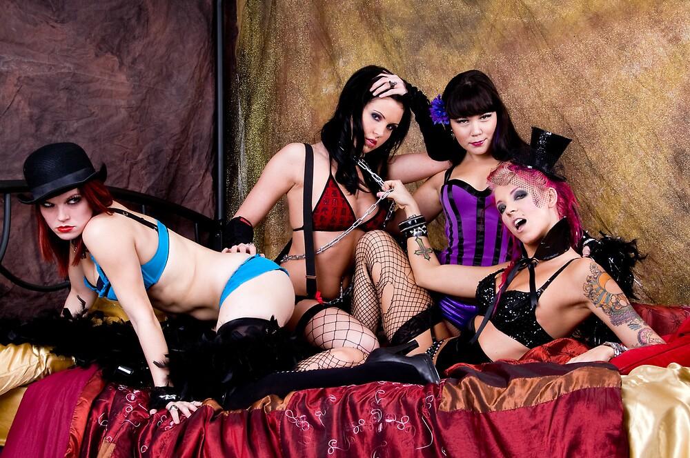 Burlesque Dollz by Bobby Deal