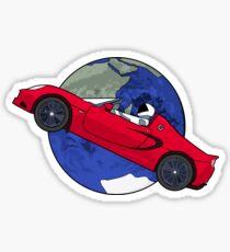 Starman Sticker