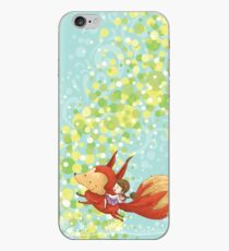 The Girl on The Fox iPhone Case