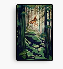 MY THERAPY: Mountain Bike! Canvas Print