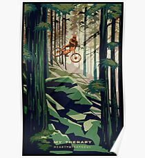 MY THERAPY: Mountain Bike! Poster