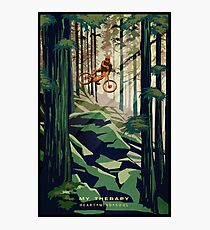 MY THERAPY: Mountain Bike! Photographic Print