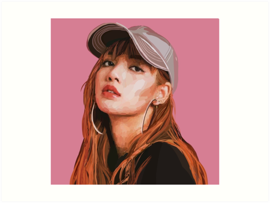 Lisa Blackpink Artwork
