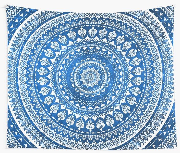 Mandala Blue by Echolite