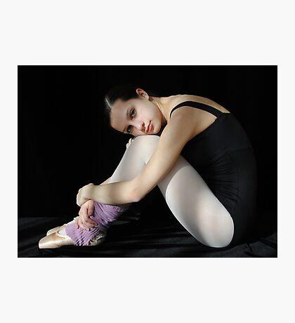 Crying Ballerina Photographic Print