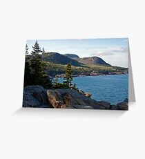 Cadillac Mountain - Acadia National Park Greeting Card