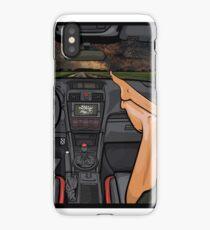 Subaru WRX STI Night Road iPhone Case