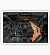 Subaru WRX STI Night Road Sticker