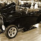 Roadster In Sepia by Chet  King