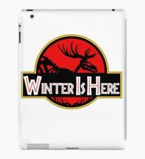 Winter Is Here Jurassic 2 Fury iPad Case/Skin
