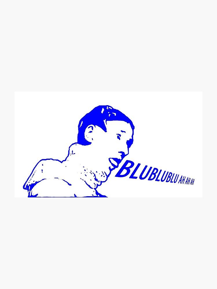 Russian Singer Meme Vitas - Blue | Photographic Print