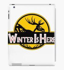 Winter Is Here Jurassic Fury - Robert's Scheme iPad Case/Skin