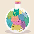 Love bottle by mjdaluz
