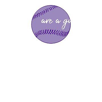 Diamonds are a Girl's Best Friend-Baseball Softball Diamonds by mmacloud