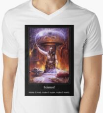 Science: Mad, Weird, or Super V-Neck T-Shirt
