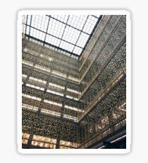 Pegatina Bobst Library NYU Geometric Architecture
