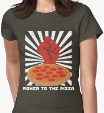 Propaganda Pizza Women's Fitted T-Shirt