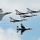 The United States Air Force Air Demonstration Team, The Thunderbirds by Rick Nicholas