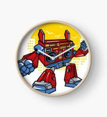 Boombox Robot Clock