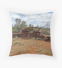 Machinery Throw Pillow