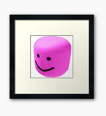 Pink oof Framed Print