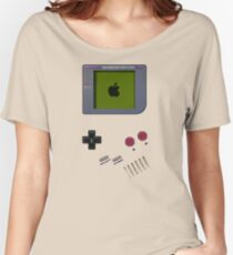 Classic white cream mini video games Women's Relaxed Fit T-Shirt
