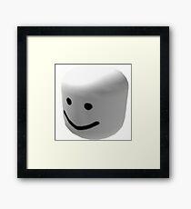 grey oof Framed Print