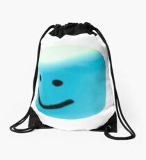 blue oof Drawstring Bag