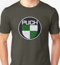 PUCH Motorcycles DISTRESSED Unisex T-Shirt