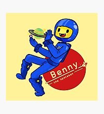 Benny the Spaceman Photographic Print