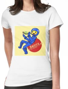 Benny the Spaceman Womens Fitted T-Shirt