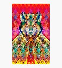 Corporate Wolf Photographic Print