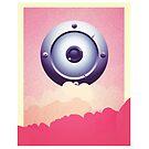 Eye inthe sky iphone case by josefomalatrova