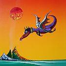 Ignatius the Fire Dragon by Rainer Kozik