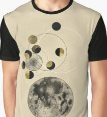 Phases of the Moon Graphic T-Shirt