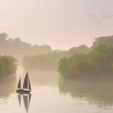 Misty Morning  by BMcKeown