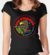 Bug Stomper Women's Fitted Scoop T-Shirt