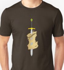 The Legendary Sword Excalibur Unisex T-Shirt