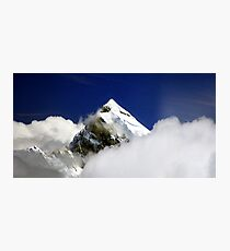 "Aoraki, ""Cloud Piercer"". Photographic Print"