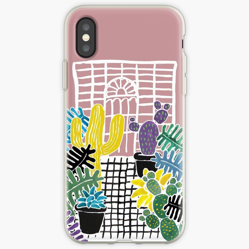 Cacti & Succulent Greenhouse iPhone Case & Cover