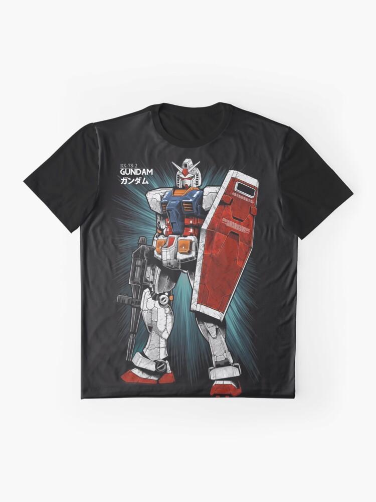 Alternate view of Gundam Graphic T-Shirt