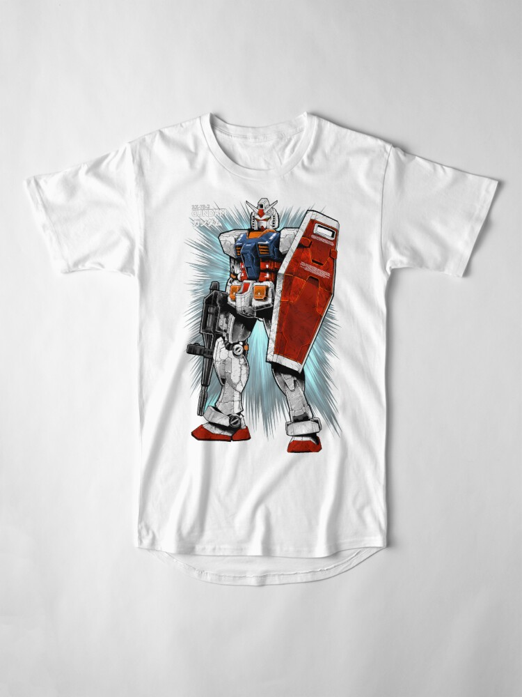 Alternate view of Gundam Long T-Shirt