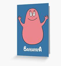 Barbapapa - TV Shows  Greeting Card