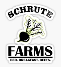 Schrute Farms Bed And Breakfast 2 Sticker