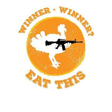 PUBG Winner Winner Chicken Dinner Eat This by oberdoofus