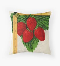 Canadian Horticulturalist 1888-96 - Parker Earle Strawberries Throw Pillow
