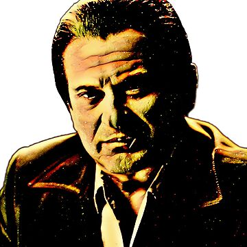 Joe Pesci mafia gangster movie Casino painting number 5 by xsdni999