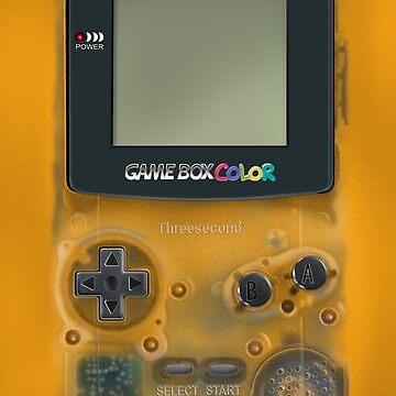 Clásicos videojuegos amarillos transparentes de GalihArt