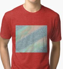 Opal unicorn rainbow Tri-blend T-Shirt