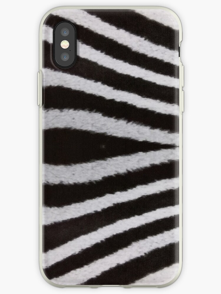 Zebra Stripes Geometric Pattern Black and white  by Factory23